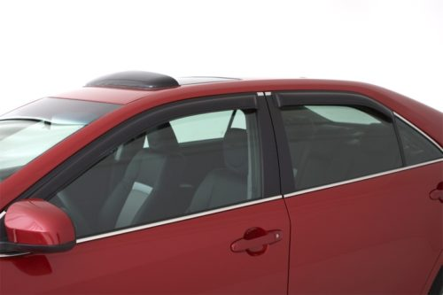 AVS 12-18 Toyota Prius V Ventvisor Outside Mount Window Deflectors 4pc – Smoke, 94839