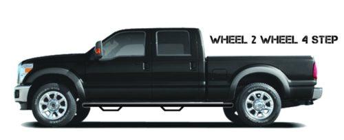 N-Fab Nerf Step 15.5-17 Dodge Ram 1500 Crew Cab 6.4ft Bed – Tex. Black – W2W – 3in, D1598CC-TX