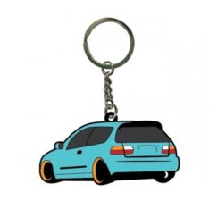 Blox Racing BXAP-00087 Rubber Logo Key Chain