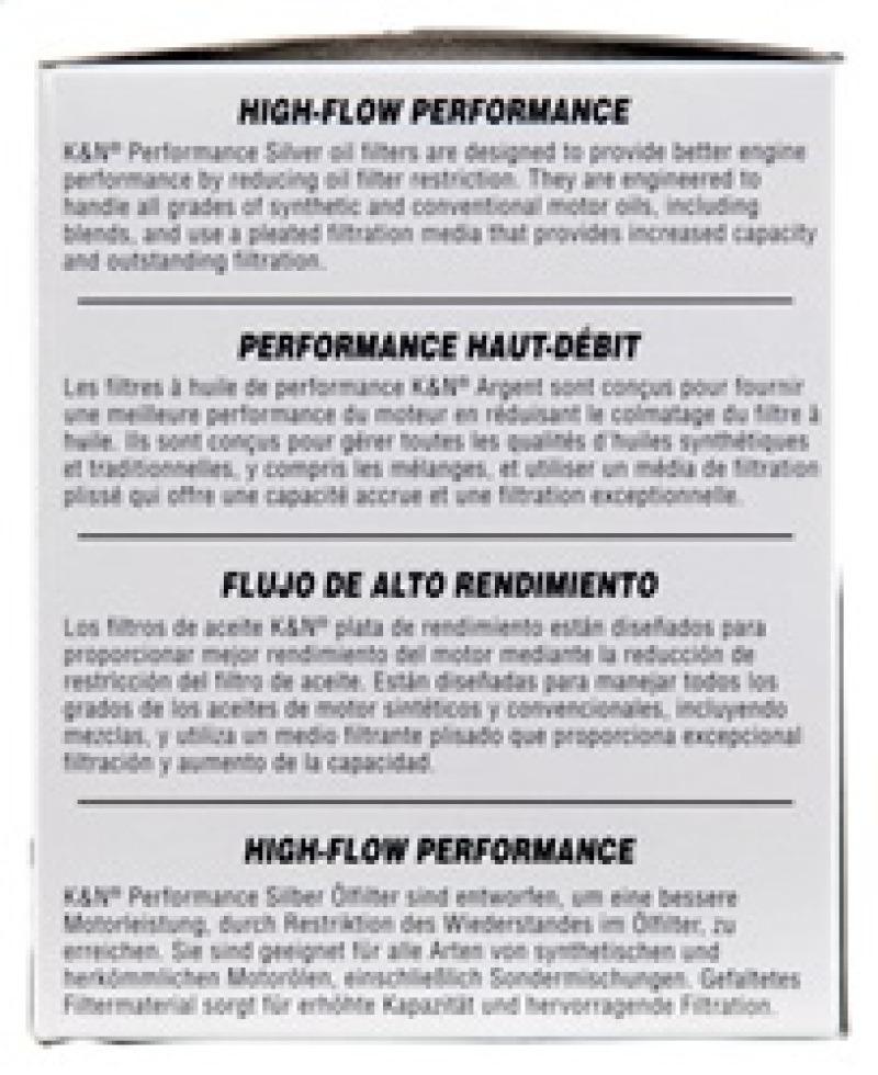 K&N Oil Filter For Mazda / Ford / Nissan / Dodge