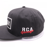 RCA Garage Snapback Hat – AutoX Limited Edition Side